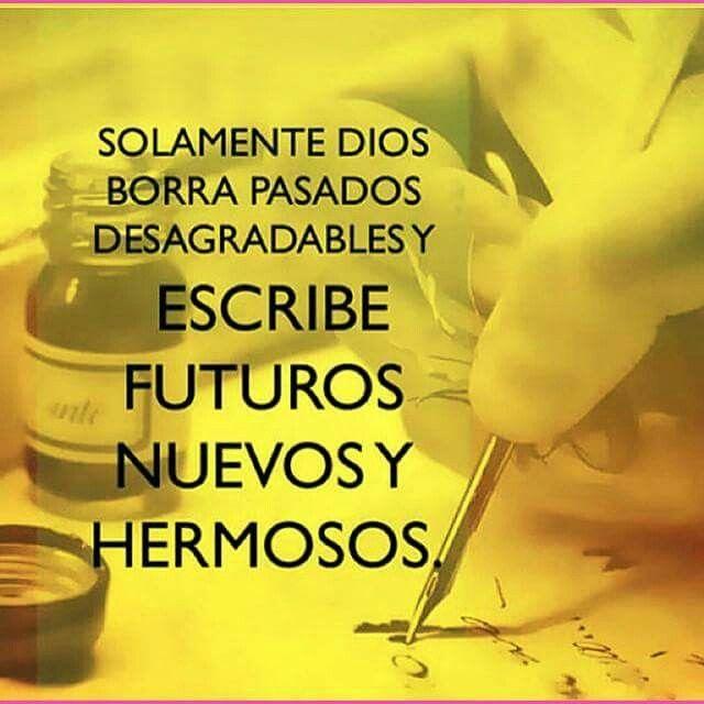 Dios escribe futuros ...
