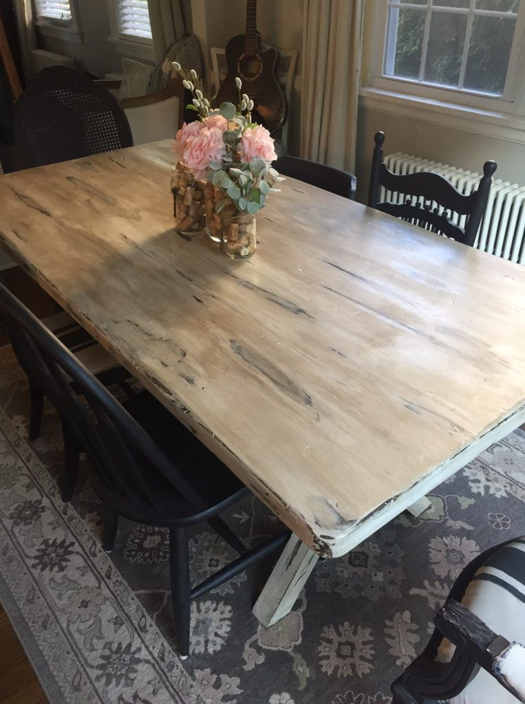 chalk paint dining room table  is it a good idea