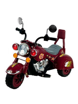 For Will's B-Day for SURE!!  Lil' Rider Maroon Marauder Motorcycle Three Wheeler