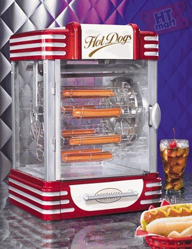 nostalgia electrics rfh 900 retro ferris wheel hot dog machine i want my own diner pinterest. Black Bedroom Furniture Sets. Home Design Ideas