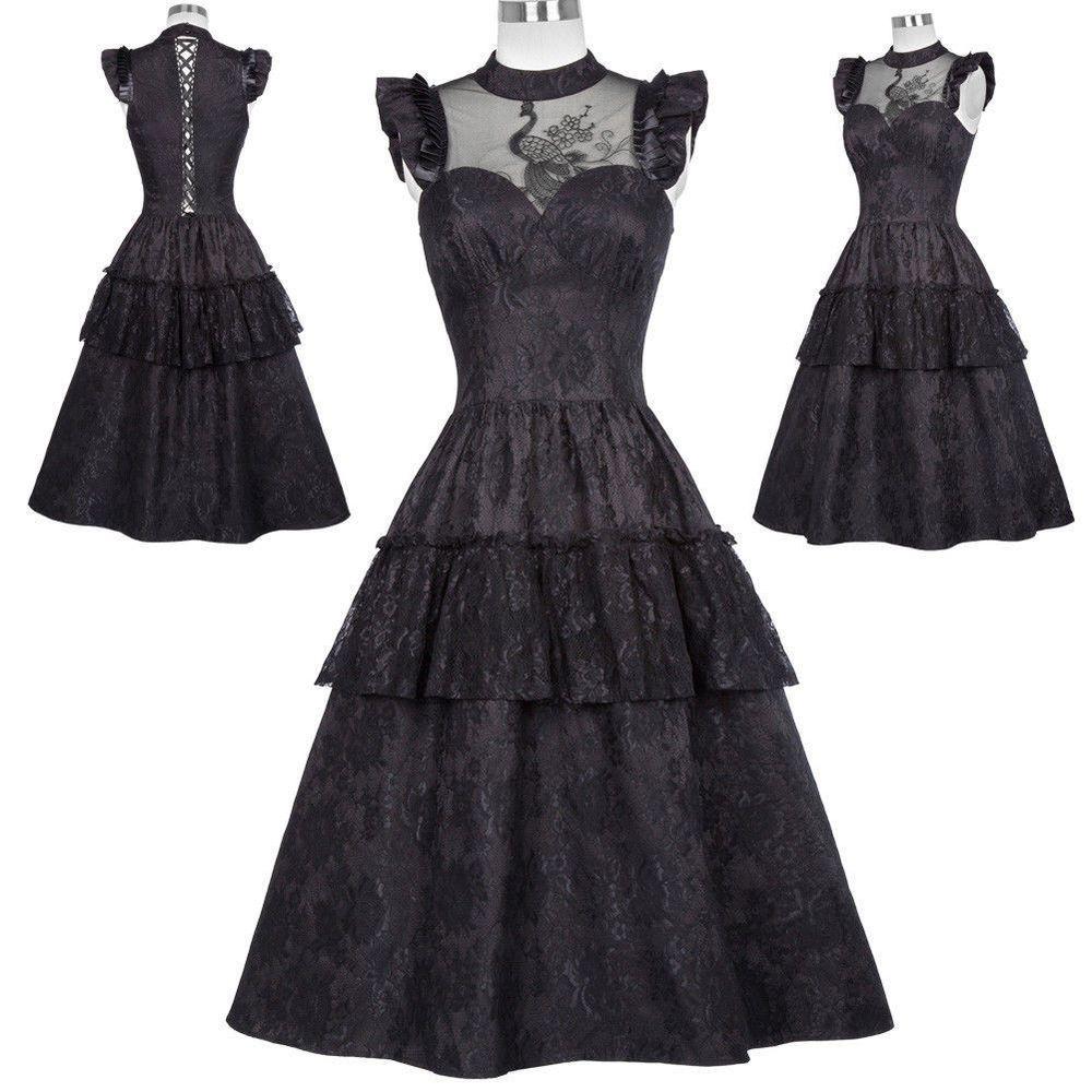 Details zu Vintage 1950s Jahre Retro Viktorianisch Steampunk Gothic ...