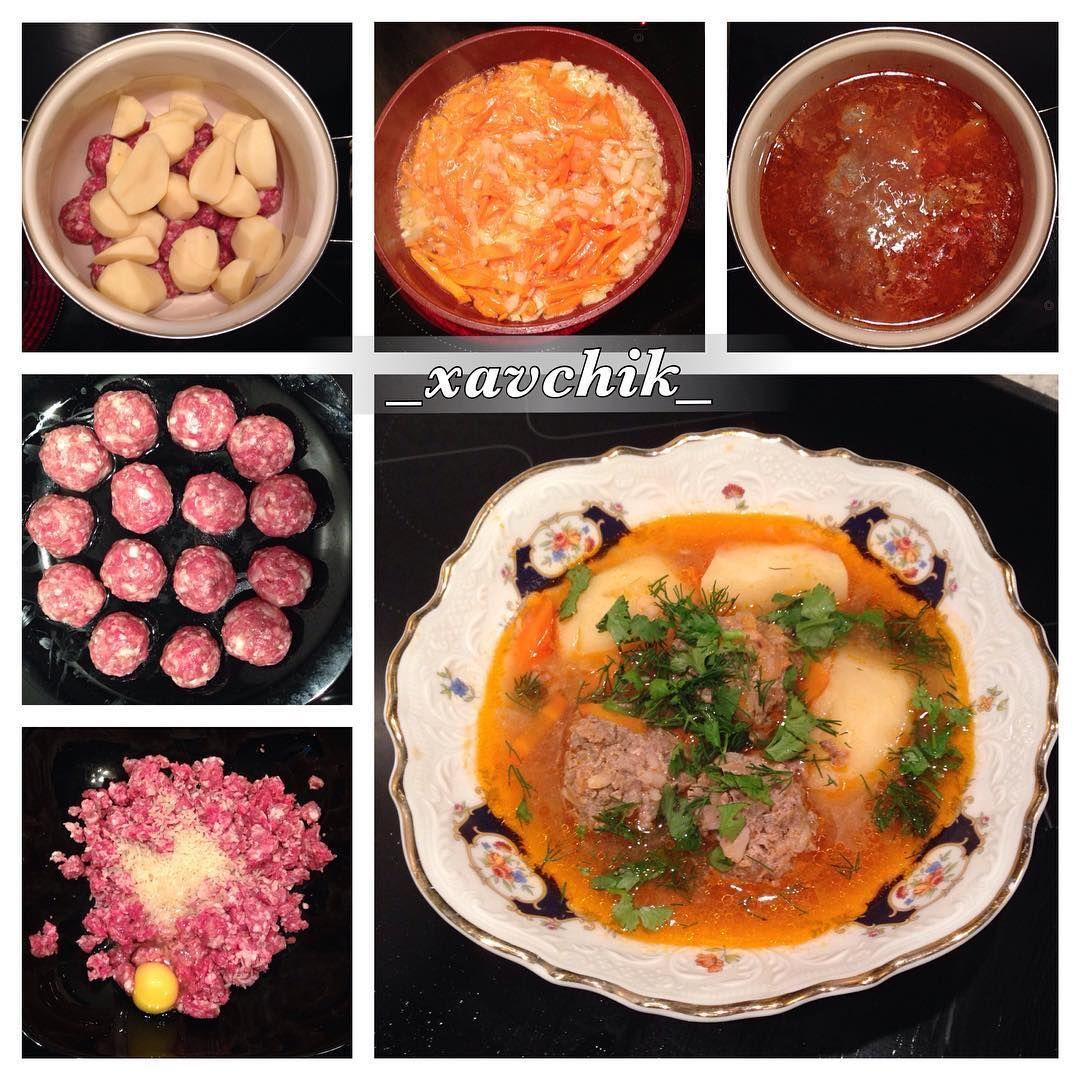 Как приготовить тефтелевый суп