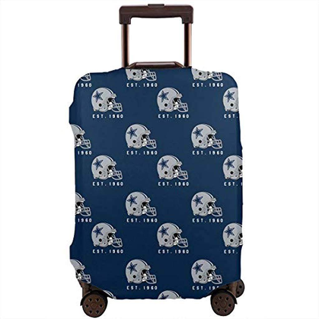 Luggage Protective Covers with American Flag Washable Travel Luggage Cover 18-32 Inch