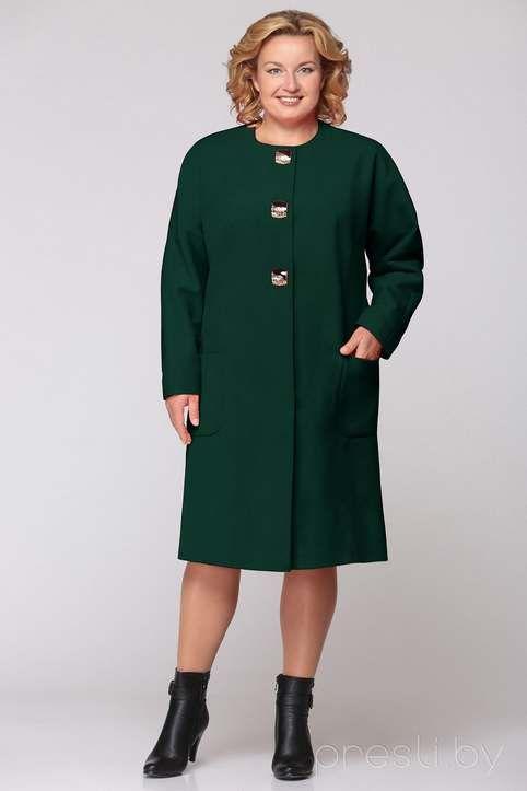 edaf1624935dc Пальто для полных женщин ведущих белорусских марок, осень-зима 2016-2017
