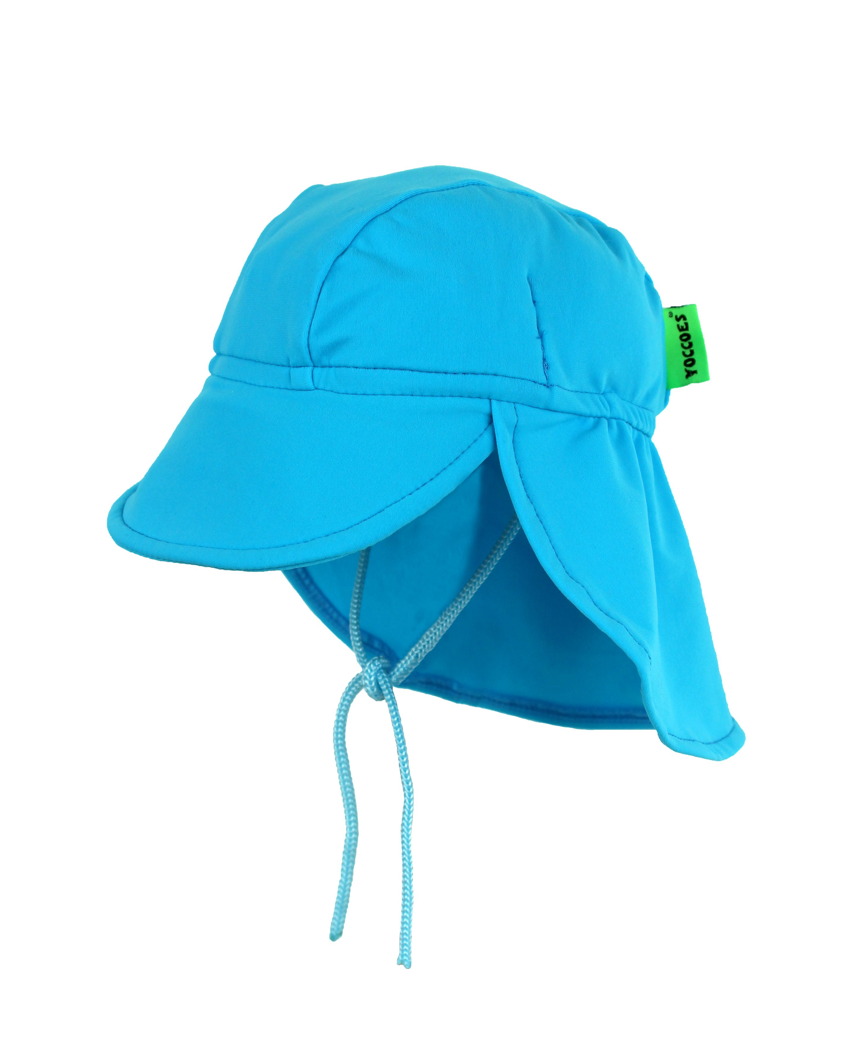 Yoccoes Designs Baby and Toddler UV Protective Legionnaire Hat Turquoise 27ac30dfb97