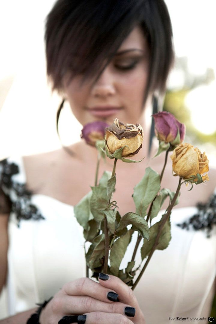 #wedding Bouquet of Dried Flowers