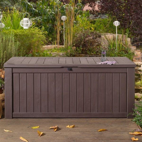 Norfolk Leisure Rockwood 570l Cushion Storage Box Home