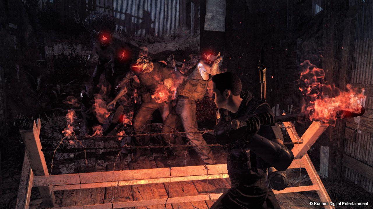 Visionneuse d'images du jeu Metal Gear Survive PS4 sur