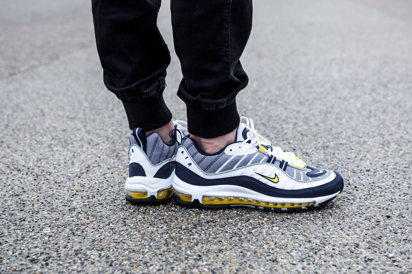 Nike Air Max 98 Tour Yellow - Grailify
