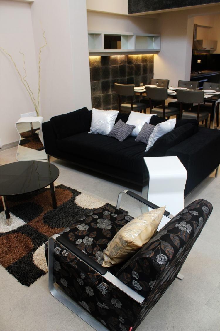 impressionnant fauteuil noir et gris | Décoration française ...