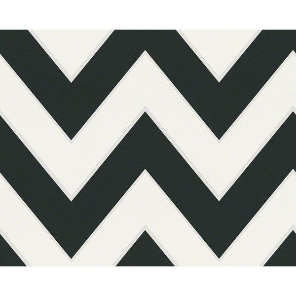 Sample Of Chevron Wallpaper In Black And White Design By BD Wall 10