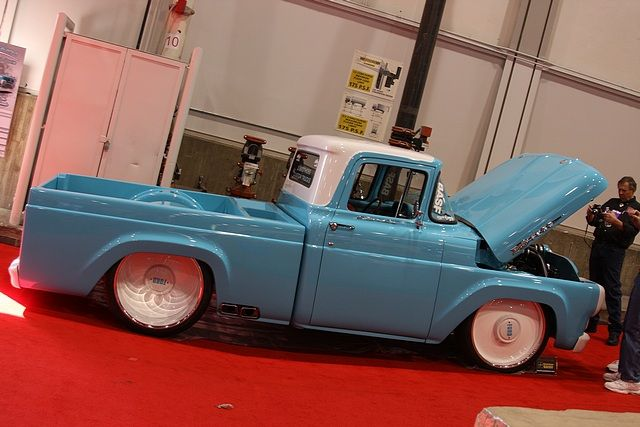 1960 Ford F100 | F100 | Trucks, Classic ford trucks, Custom