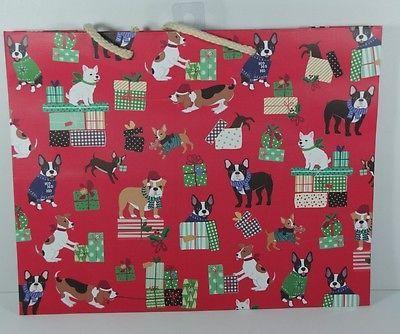 Dog Christmas Gift Bags