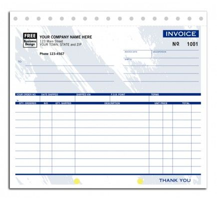"Invoice Shipping Shipping Invoices For Business Item No121T Size 8 12"" X 7 ."