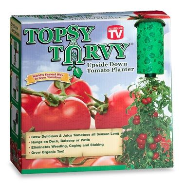 Diy Topsy Turvy Tomato® Planter Upside Down Tomato 400 x 300