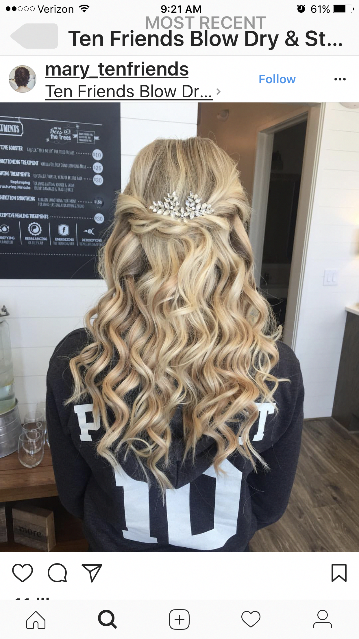 These prom hairstyles half up half down really are ...
