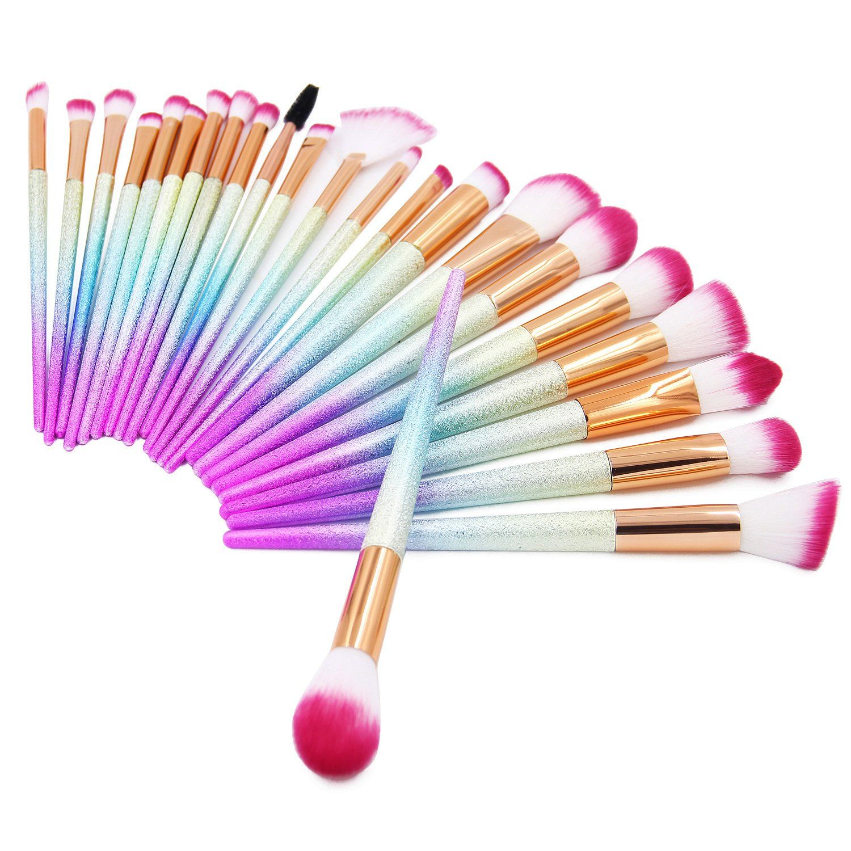 QERI Make Up Brushes 24 Pieces Professional Makeup Brush