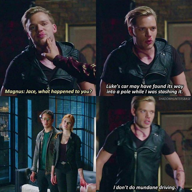 "#Shadowhunters 1x06 ""Of Men And Angels"""