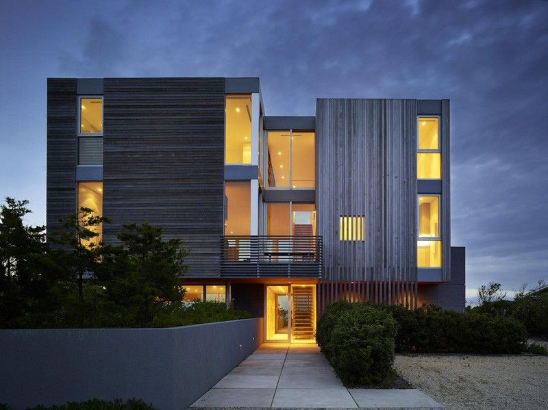 façade entrée - Cove Residence par Stelle Lomont Rouhani Architects