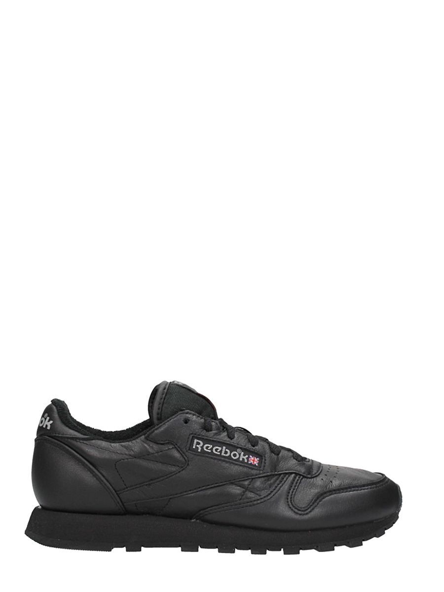 shades of buy good biggest discount REEBOK CLASSIC LEATHER ARCHIVE SNEAKERS IN BLACK LEATHER. #reebok ...