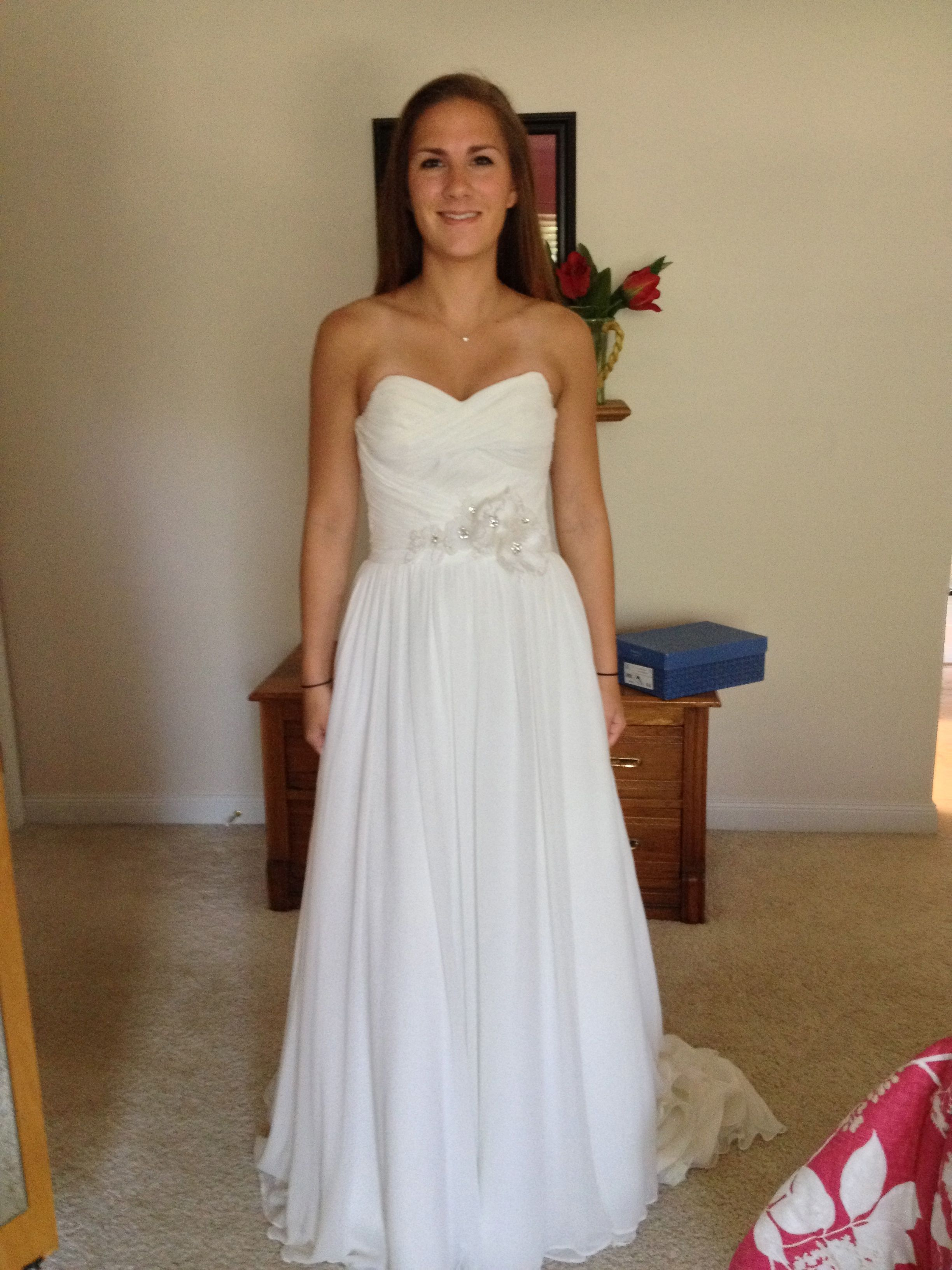 Used vera wang wedding dress  Maggie Sottero Sidney Size  Wedding Dress  Maggie sottero Wedding