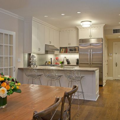 Small kitchen lighting ideas condo ideas pinterest Condo kitchen design philippines