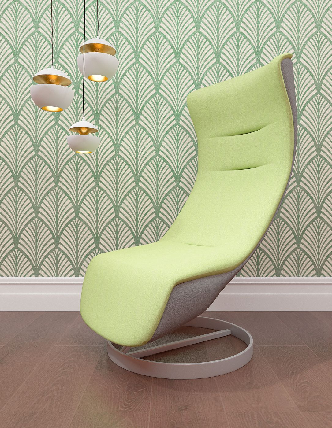 With the help of patterns and drawings you can make the interior of ...