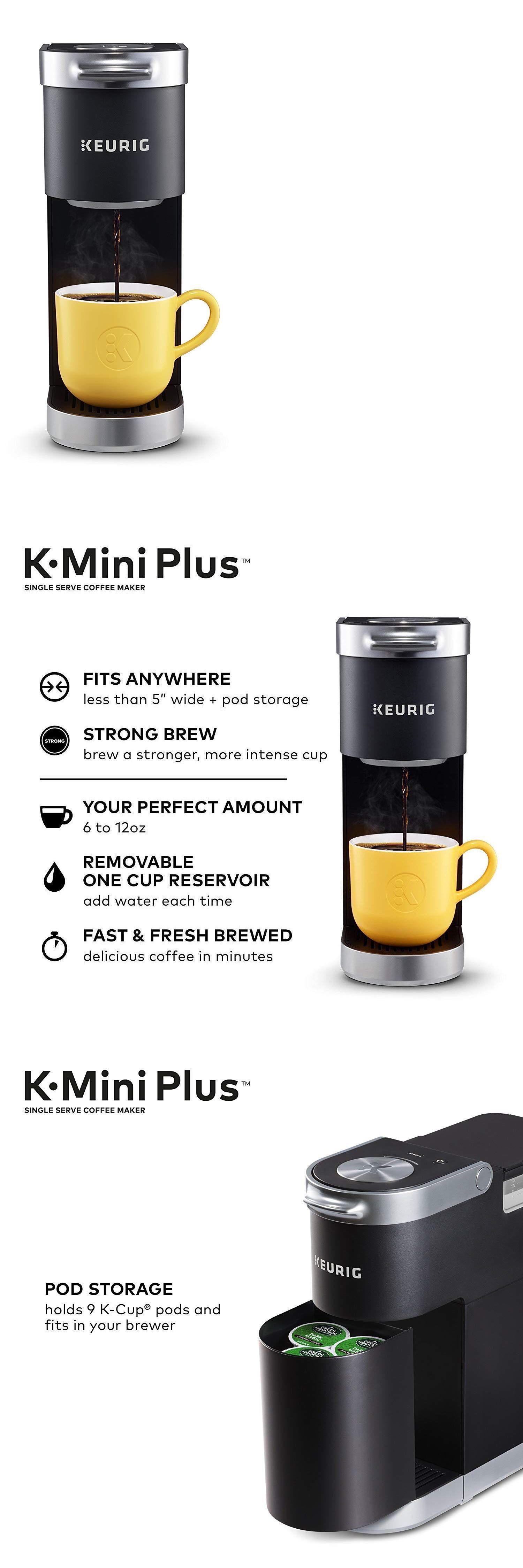 keurig k-mini plus coffee maker single