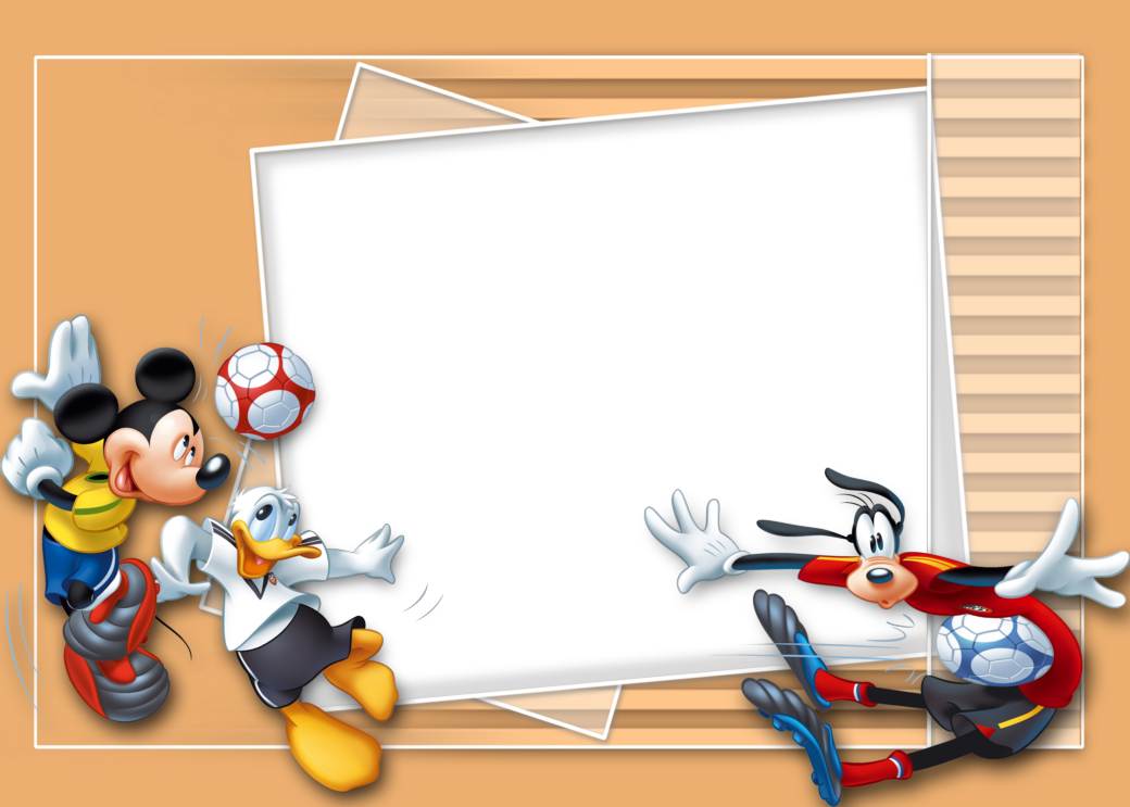 Marcos png de mickey mouse para ni os marcos gratis for Cuadros para poner fotos