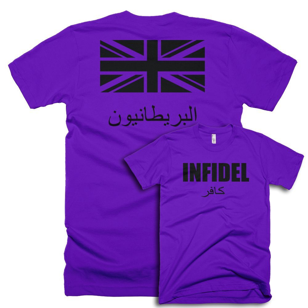 INFIDEL British Two Sided T-Shirt