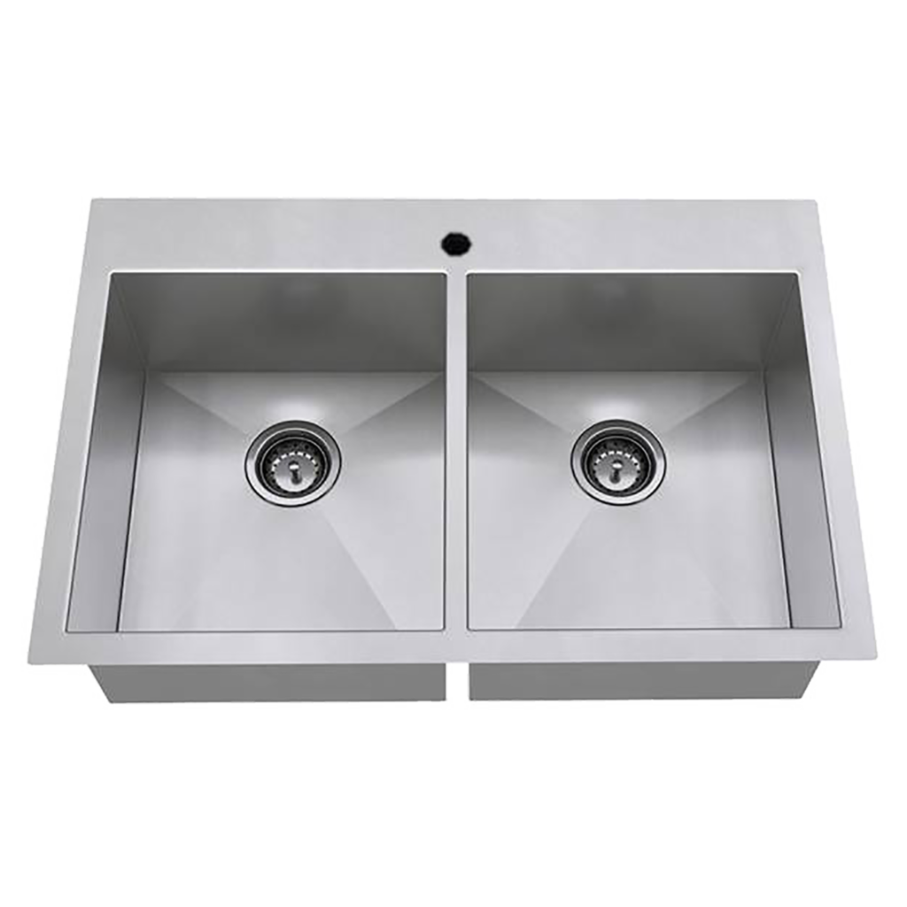 Edgewater 33x22 Double Bowl Stainless Steel Kitchen Sink American Standard In 2020 Sink Stainless Steel Kitchen Sink Stainless Steel Kitchen