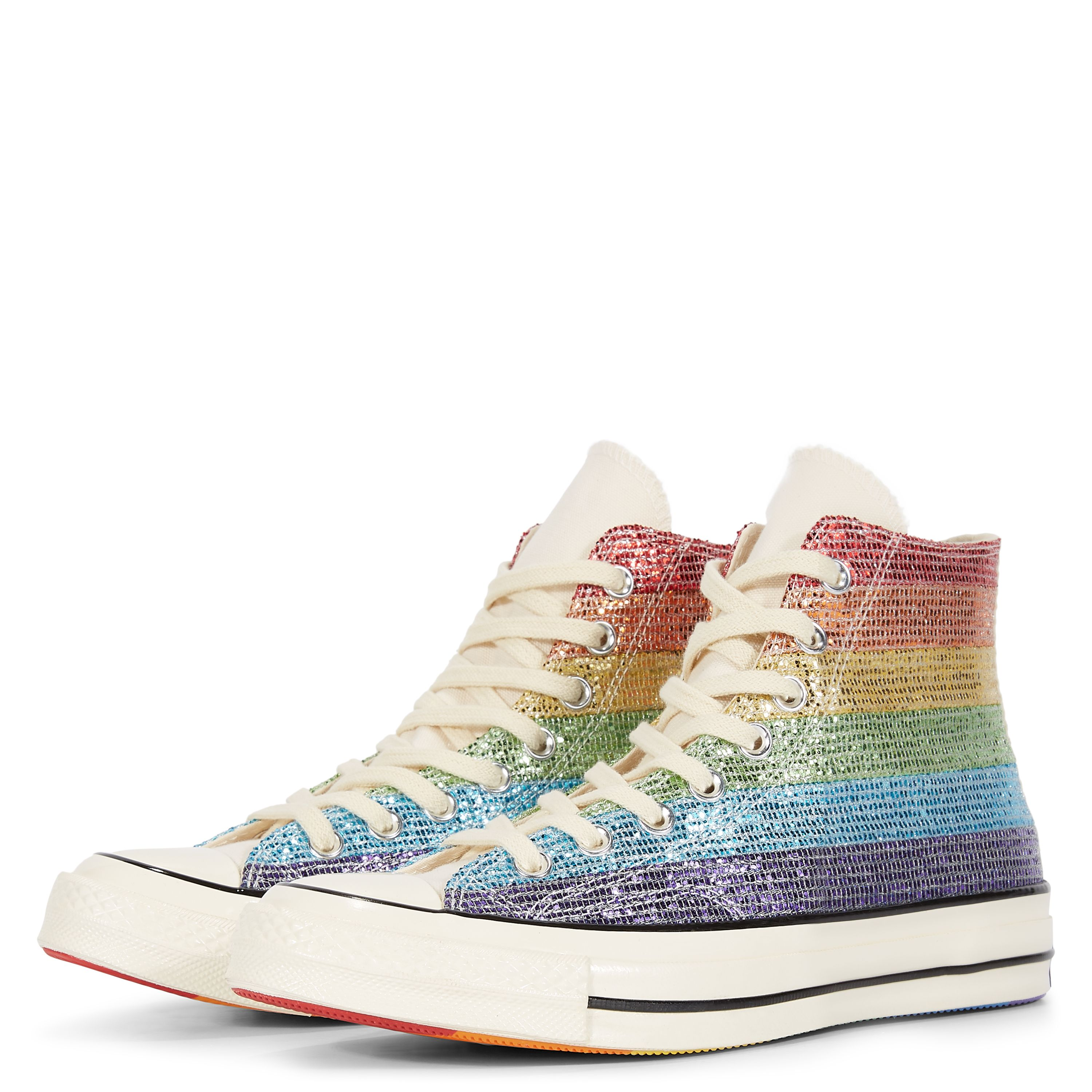 64ff8c70e76ddd I. NEED. THESE. Converse Pride x Miley Cyrus Chuck 70 High Top Multi ...
