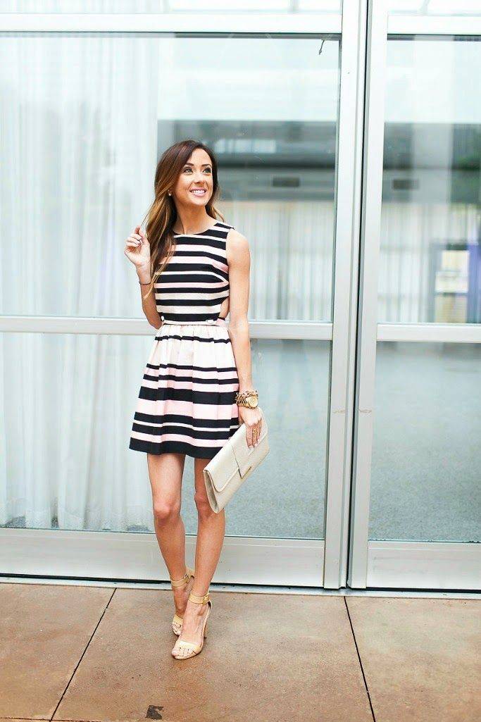 STRIPED SUNDRESS | Sequins & Things