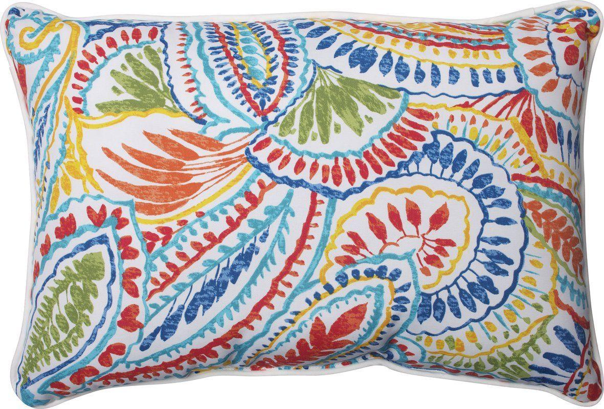 Toshia Indoor Outdoor Lumbar Pillow In 2020 Pillows Lumbar Pillow Decorative Pillows