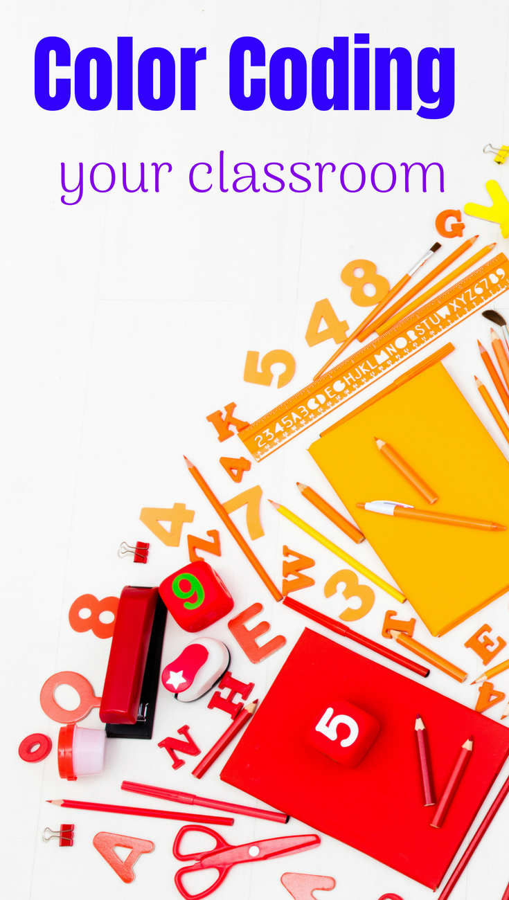 Benefits of ColorCoding for your Middle School Students