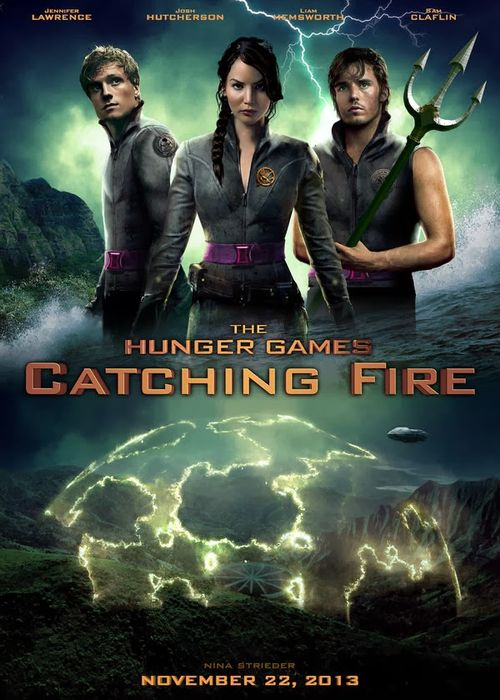 The Hunger Games Catching Fire Jennifer Lawrence Josh