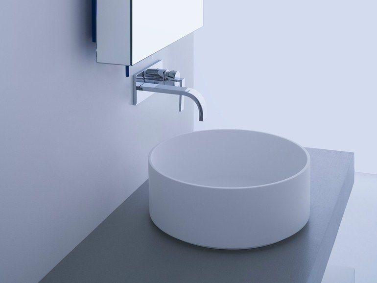 Badezimmer Katalog ~ Runde waschbecken badezimmer yanksmart runde glas flora waschraum