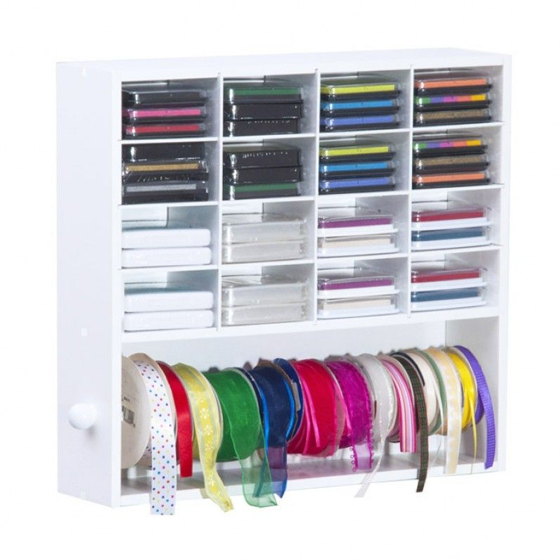 Genial Ink Pads And Ribbon Organizer