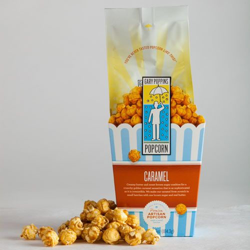 Gary Poppins popcorn - delicious!  We have both the cheddar and the caramel