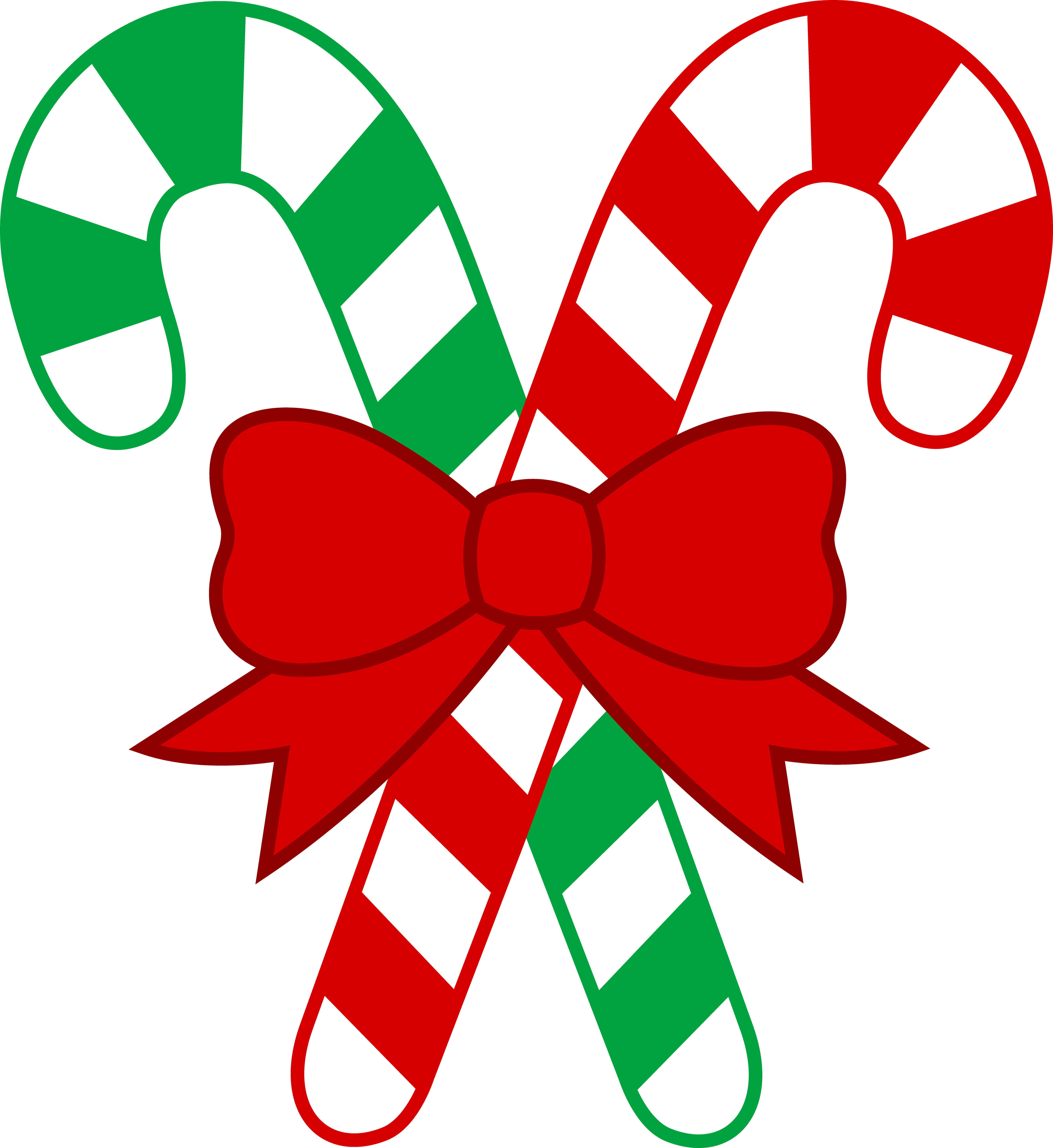 candy cane clip art m s christmas images free  [ 4847 x 5284 Pixel ]