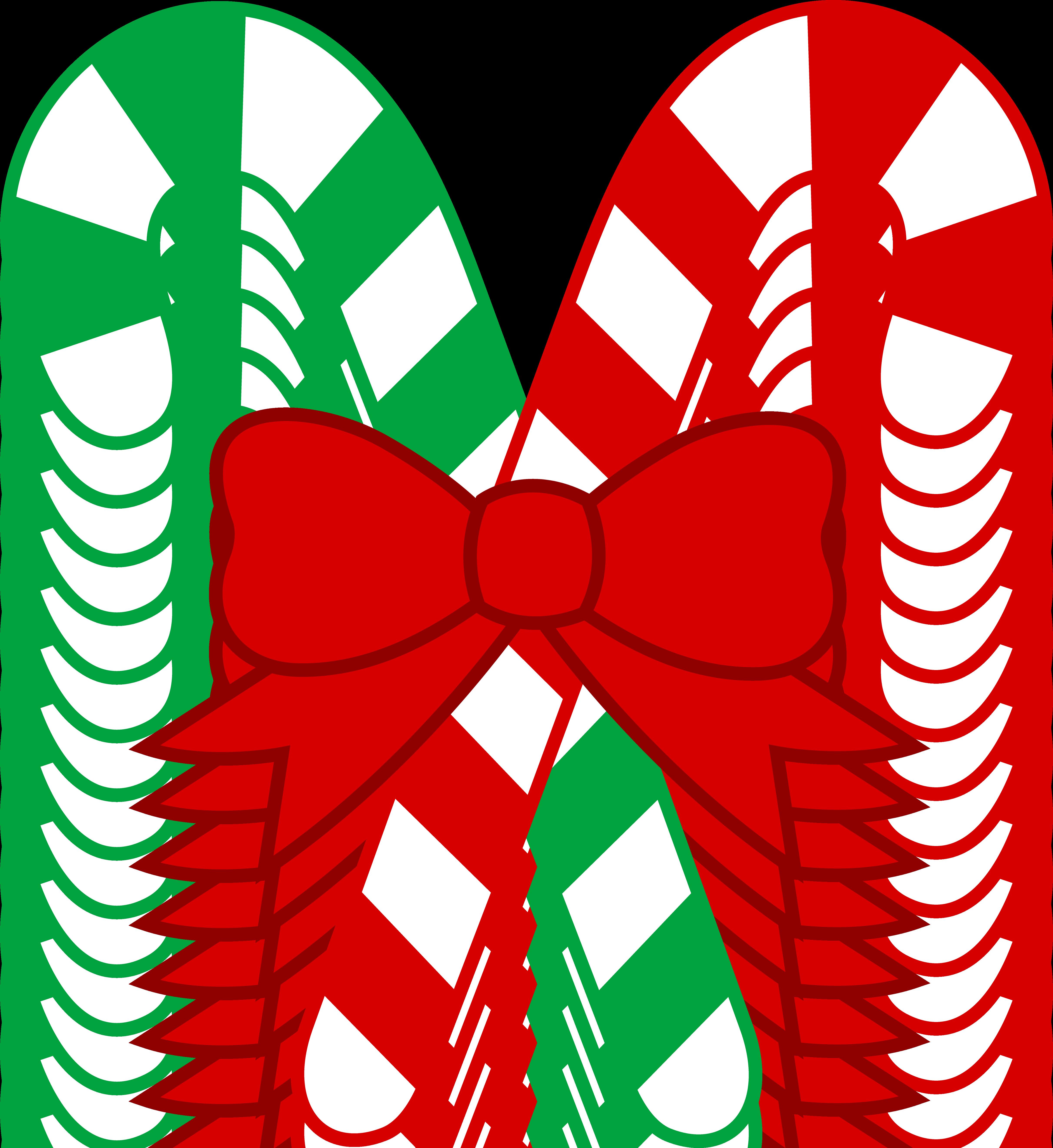 candy cane clip art christmas
