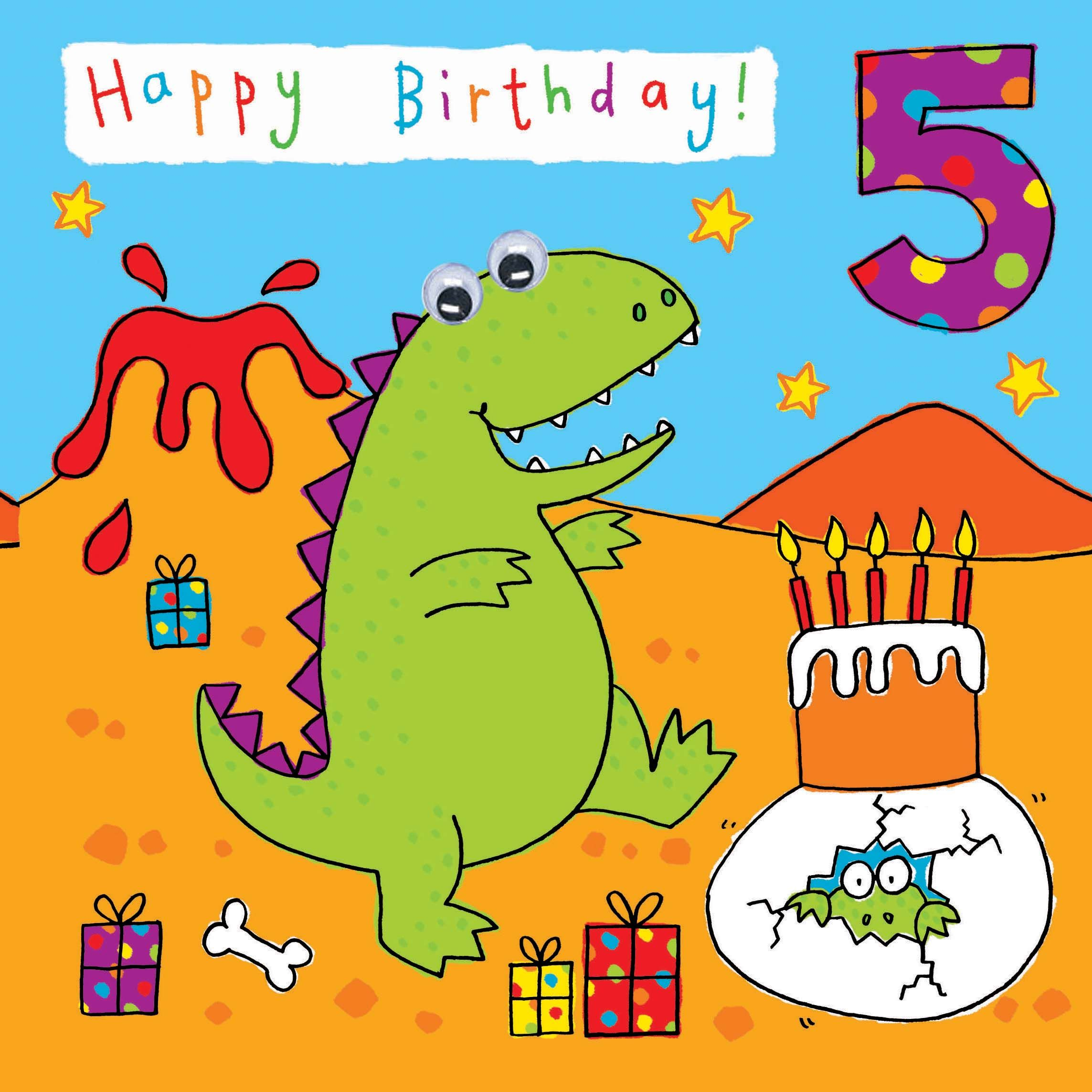 Image Result For Happy 5 Years Old Birthday Birthday Cards For Boys Kids Birthday Cards Birthday Card Printable