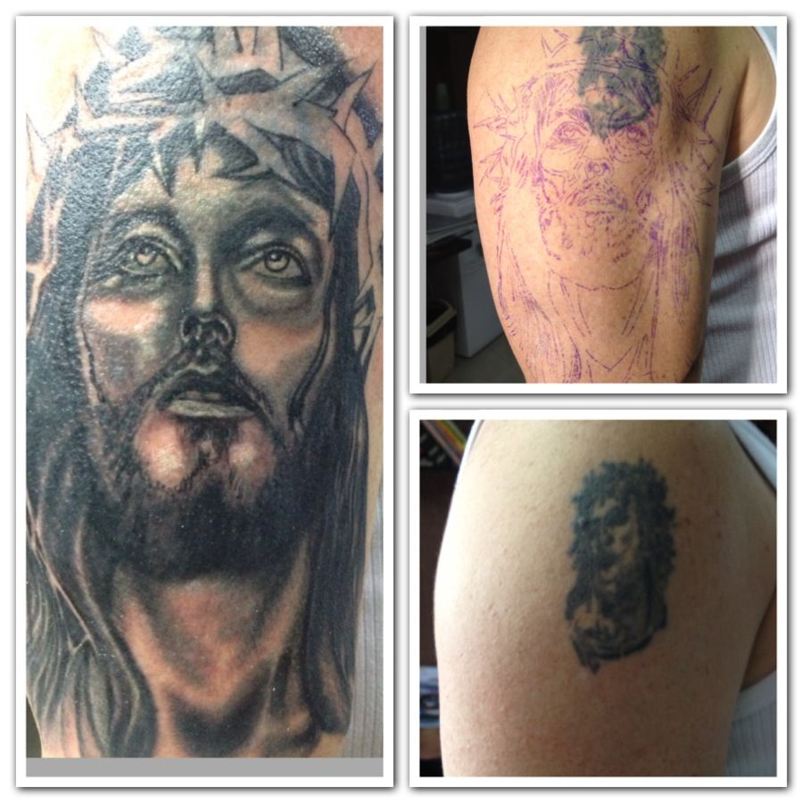 Cover up first session.