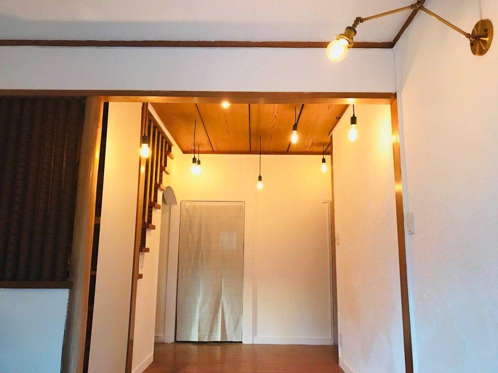 昭和の砂壁玄関をdiyで漆喰塗装にセルフリノベーション Vol 19 玄関