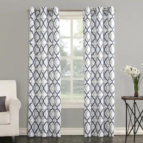 Geometric Decorative Window Curtains