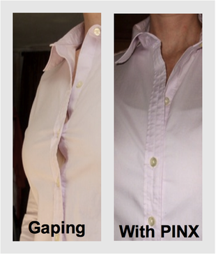button down shirt gaping