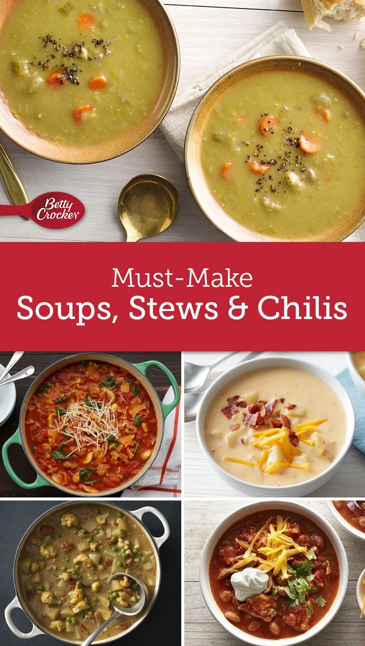Must Make Soups Stews Chili Stew Recipes Chowder Recipes Cooking Recipes