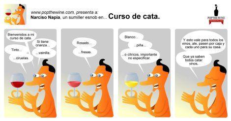 Narciso Napia en Curso de #cata.
