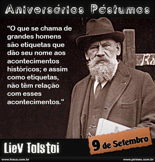 Liev Tolstoi || #Liev #Tolstoi l#eon #tolstoi #leão #tolstoi  #aniversário #citação #citações #frase #frases #postumo