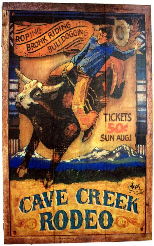 Wall Art I Have This For Santa Fe Rodeo Vintage Cave